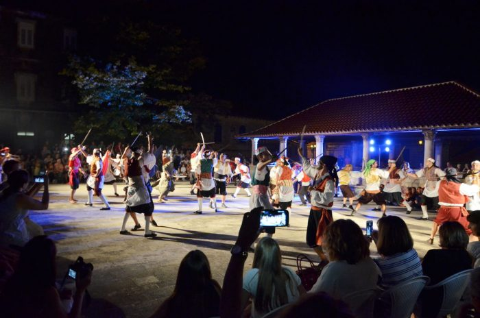 Summer Events In Blato - Sword Dance Kumpanjija